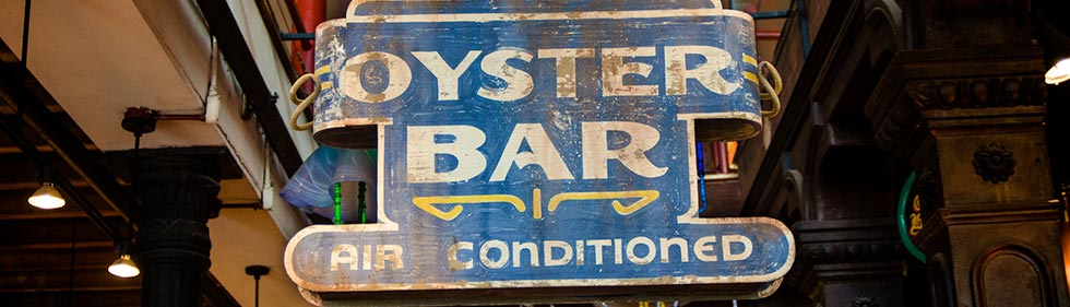 oyster bar sign
